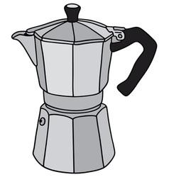 Espresso maker vector