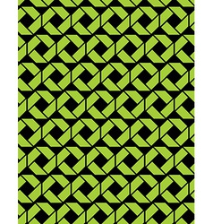 Contrast endless texture with green geometric vector