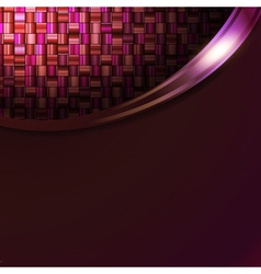 Absract mosic background in frame vector