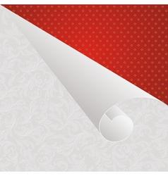 Wallpaper corner vector