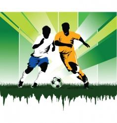 Soccer forever vector