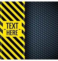 Danger tech abstract background concept vector
