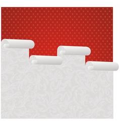 Wallpaper roll vector