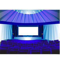 Theatre lounge vector