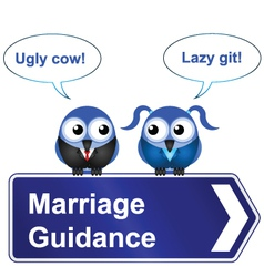 Marriage guidance vector