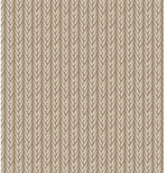 Brown sweater texture background vector