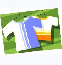 Baby cloth vector