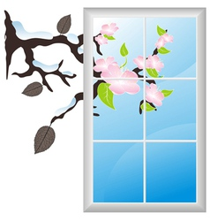 Window branch vector
