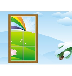 Window field vector