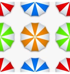 Modern colorful seamless umbrella vector