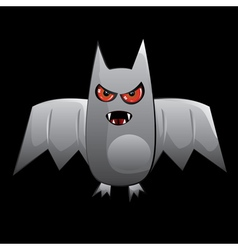 Cartoon bat vector