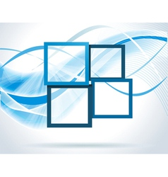 Dark blue frames vector