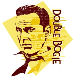 Original humphrey bogart vector