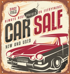 Car sale vector