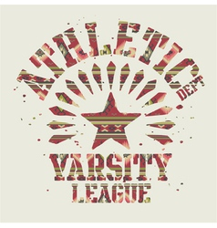 Native americans athletic vector