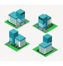 Isometric clinic vector