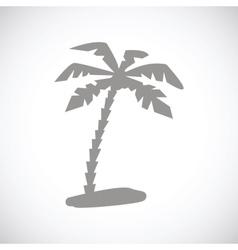 Island black icon vector