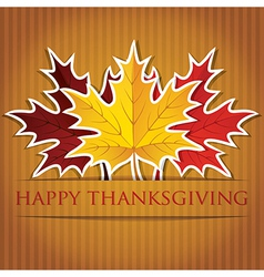 Happy thanksgiving card vector