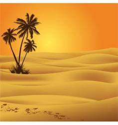Sahara desert vector