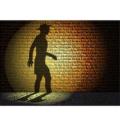 Night shadow vector