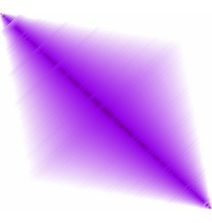 Abstract purple effect on white background vector