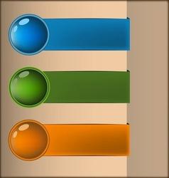 Pure water design vector