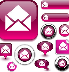 E-mail signs vector