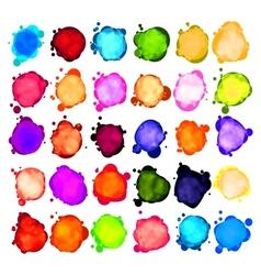 Paint speech bubbles vector