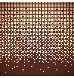 Pixelate background vector