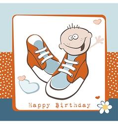 Happy birthday boy vector