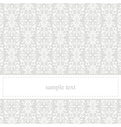 Classic elegant card or invitation for party vector