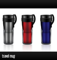 Travel mug vector