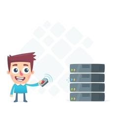 Remote monitoring server vector