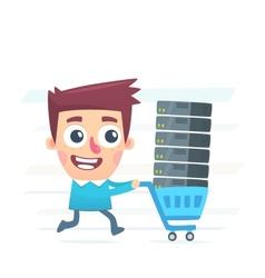 Buy hosting vector