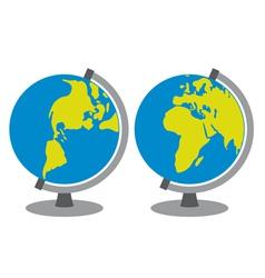 School globe vector