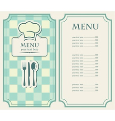 Green menu vector