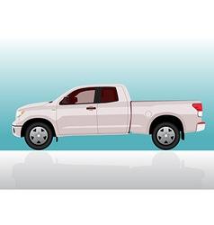 Pick-up truck big vector