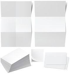 Blanks b cards vector