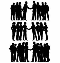 Business groups vector