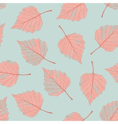 Autumn leaves seamless vector