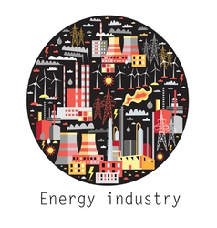 Industry background vector