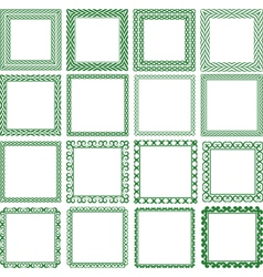 Square frame vector