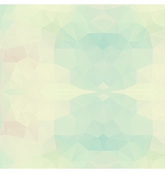 Abstract triangle geometric background vector