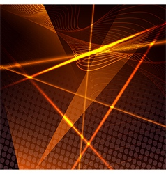 Abstract background with laser beams vector