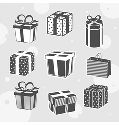 Beautiful gifts vector