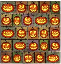 Halloween shabby background vector