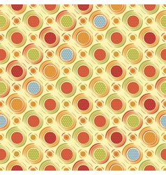 Happy dots print vector