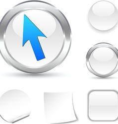Cursor icon vector