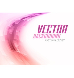 Background curve stripes purple white vector