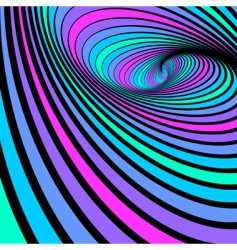 Whirl spiral movement vector